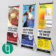 Multipurpose Standing/ X-Banner Print Templates - GraphicRiver Item for Sale