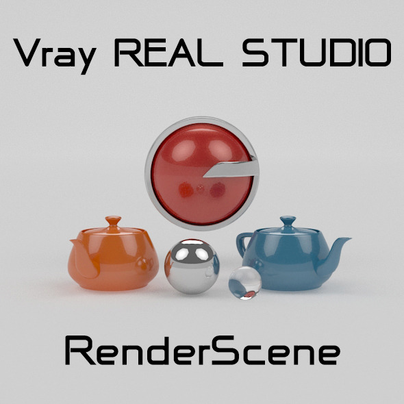 Vray REAL STUDIO Photography  - 3DOcean Item for Sale