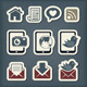Internet Communication Icons - GraphicRiver Item for Sale