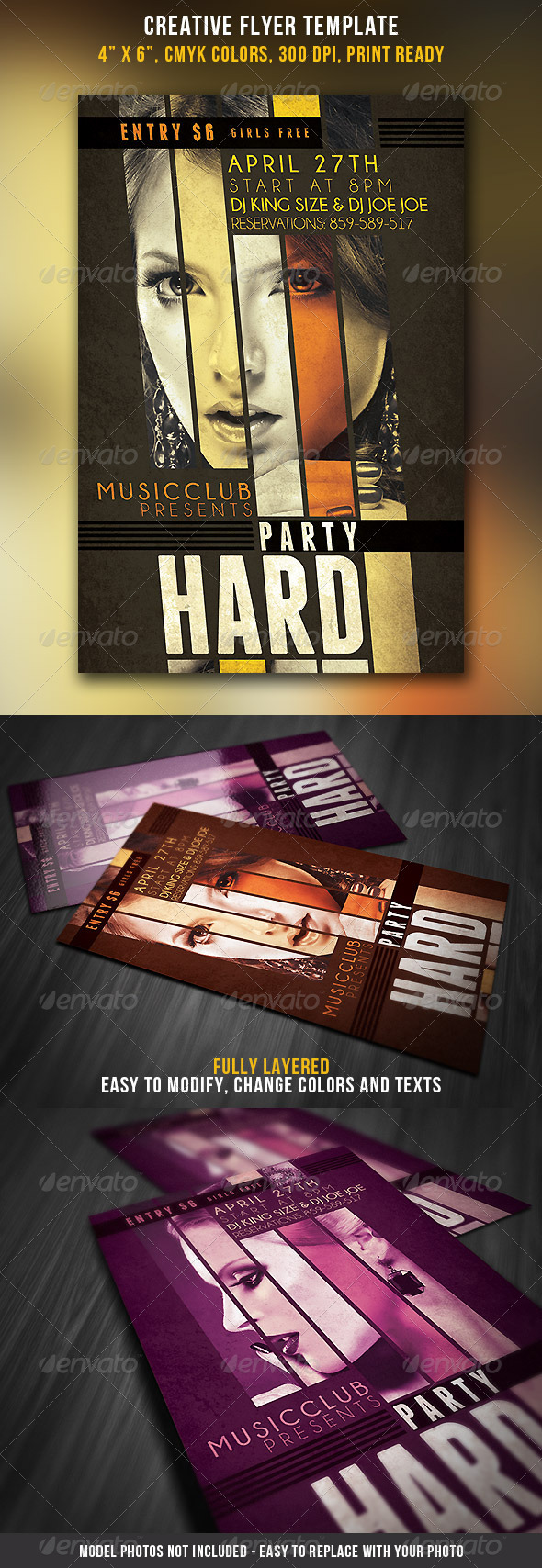 Creative Flyer Template - Events Flyers