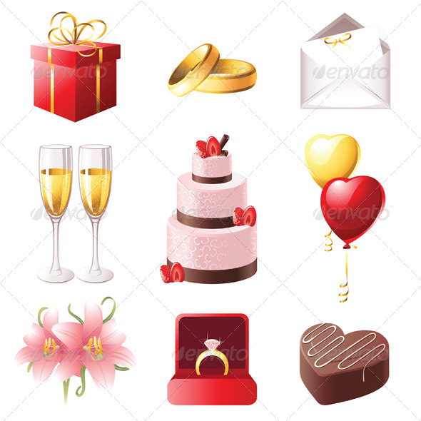 Marriage Icons - Weddings Seasons/Holidays
