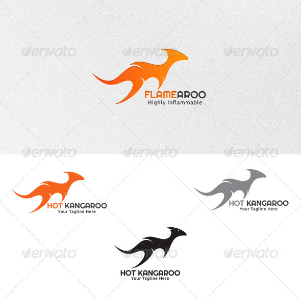 Hot Kangaroo - Logo Template - Abstract Logo Templates