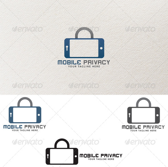 Mobile Privacy - Logo Templates - Objects Logo Templates