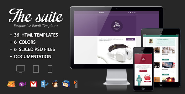 The suite - Responsive Email Template - Email Templates Marketing