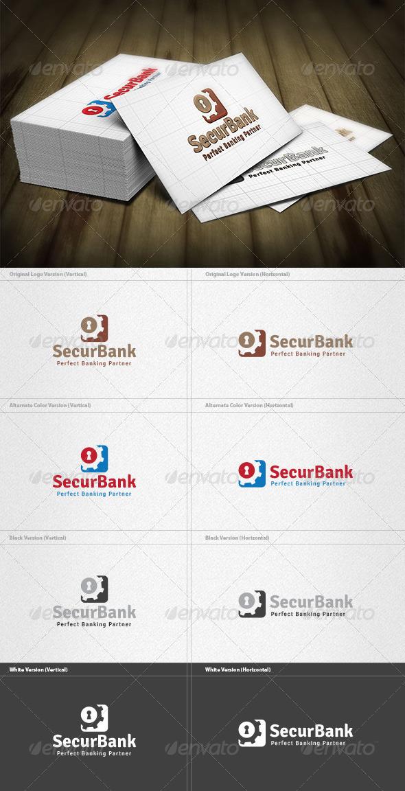 Security Bank Logo - Vector Abstract