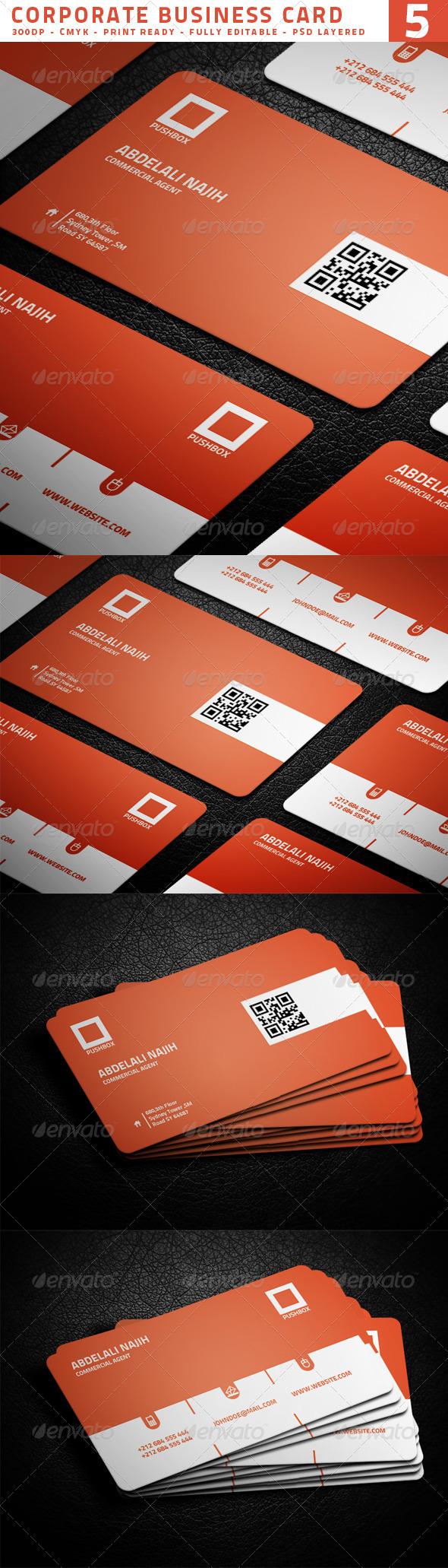 Corporate Business Card 5 - Corporate Business Cards