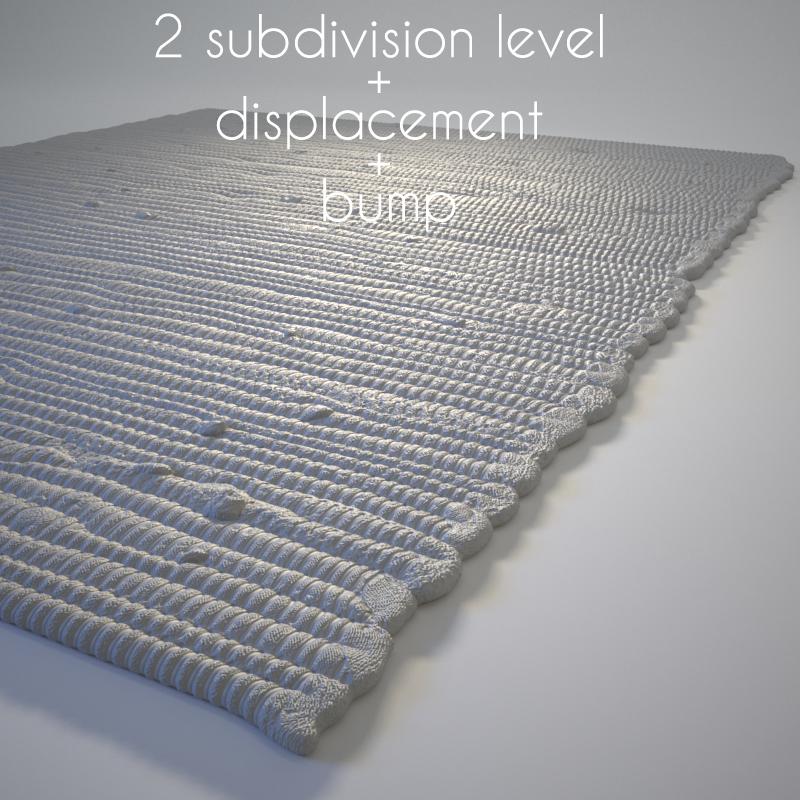 Carpet Rug 3d Model Studio Scene By 3dlight 3docean