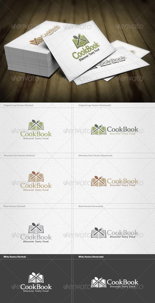 Cook Book Logo - Food Logo Templates