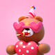 3D Valentine's Bear Pack - VideoHive Item for Sale