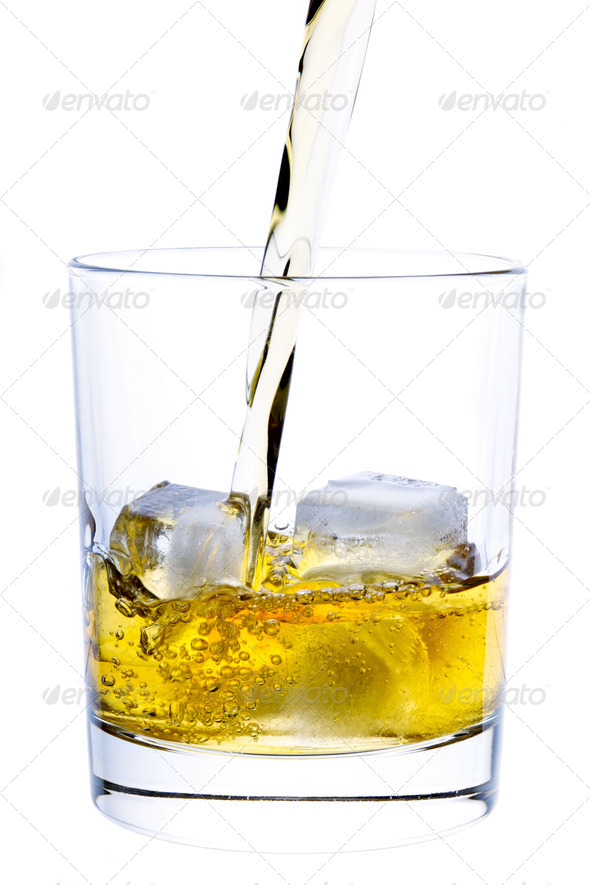 Pouring Whiskey - Stock Photo - Images