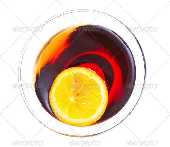 Red Martini - Stock Photo - Images