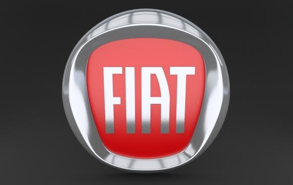 Fiat Logo - 3DOcean Item for Sale