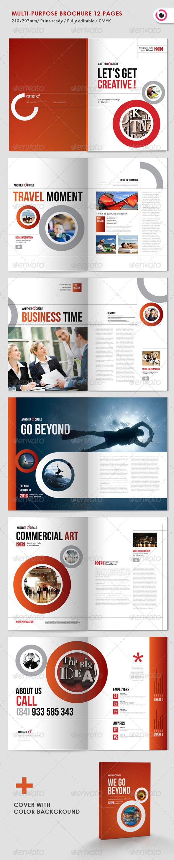 Multipurpose Circle Brochure - Corporate Brochures