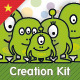 Monster Family Creation Kit - GraphicRiver Item for Sale