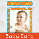 Baby Announcement Card - Air of Love - GraphicRiver Item for Sale