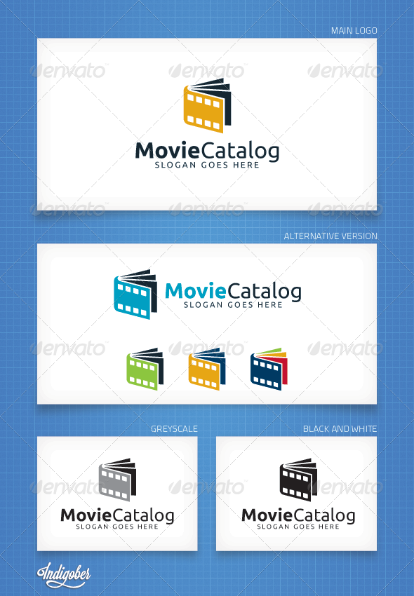 MovieCatalog - Logo Template - Objects Logo Templates