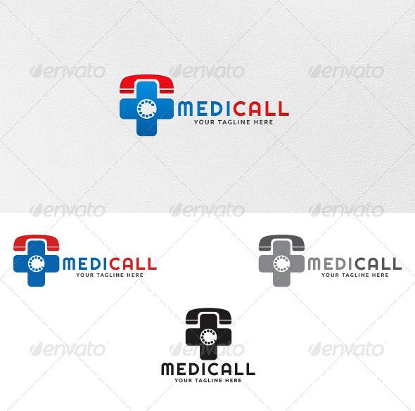 Medicall - Logo Template - Symbols Logo Templates