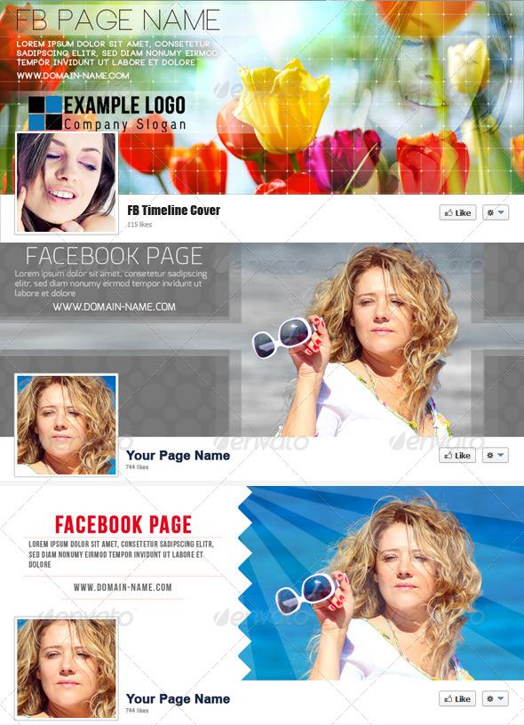 Facebook Timeline Cover Bundle - Facebook Timeline Covers Social Media