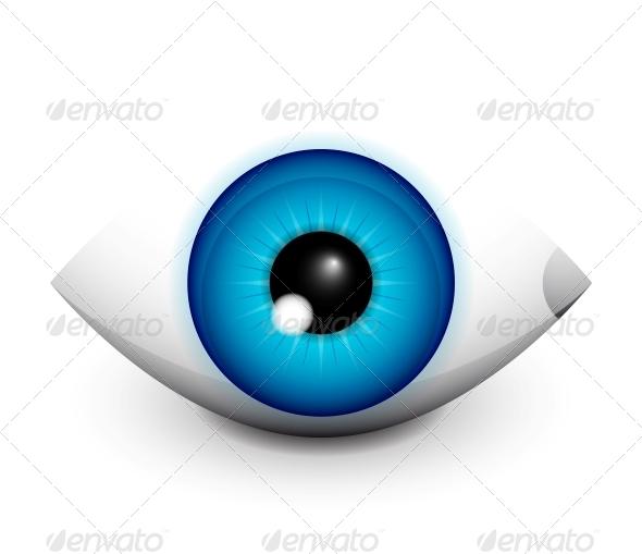 Hi-tech Eye Concept Icon Design - Web Elements Vectors