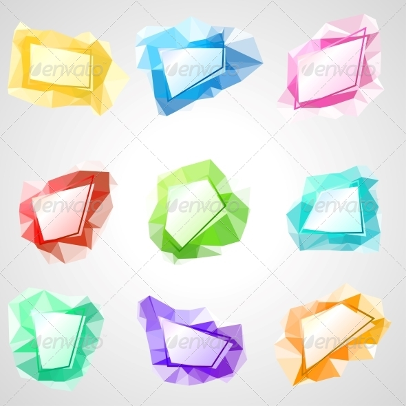 Multicolored Speech Bubbles. - Communications Technology