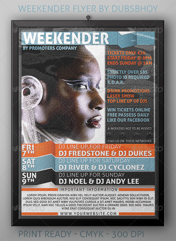 Weekend Flyer
