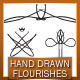 50+ Hand Drawn Vector Flourishes - GraphicRiver Item for Sale