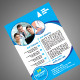 Hospital A4 Flyer Template - GraphicRiver Item for Sale