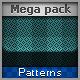 Mega Pack Patterns for Web - GraphicRiver Item for Sale