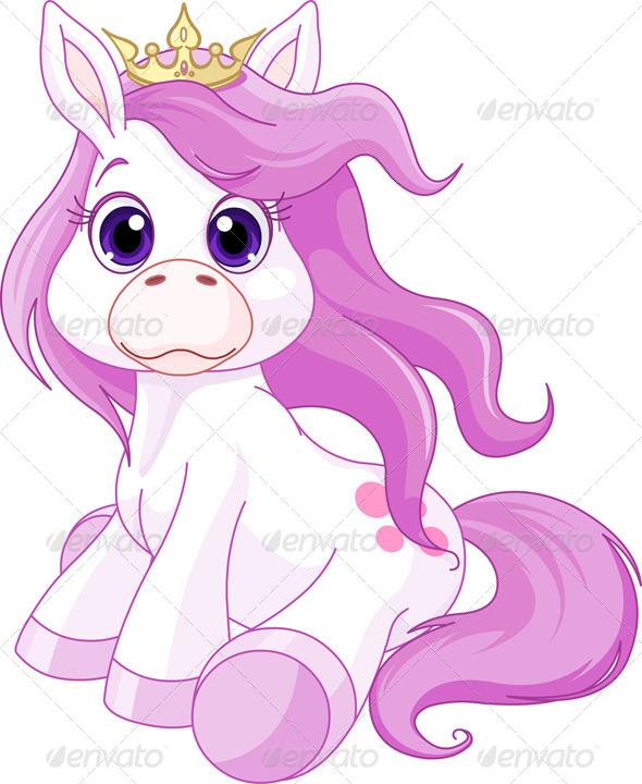 Horse Princess  - Animals Characters