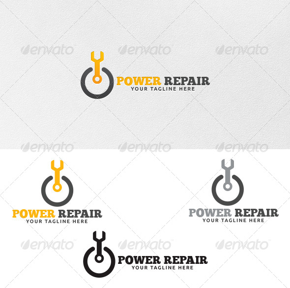 Power Repair - Logo Template - Symbols Logo Templates
