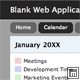 Blank Web Application 2 - Single Column, Fixed Layout Nulled
