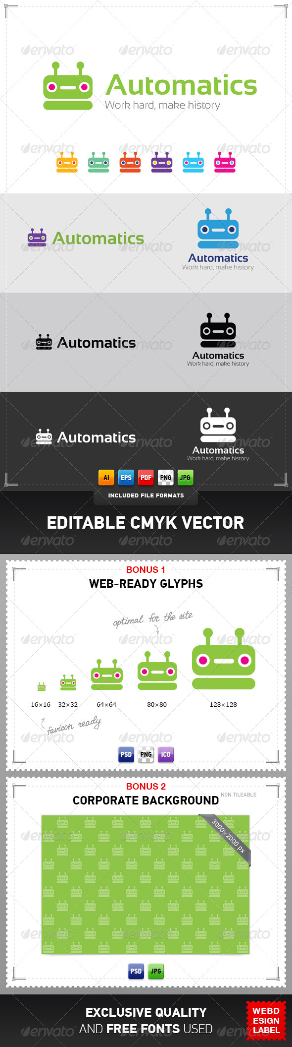 Automatics Logo - Objects Logo Templates