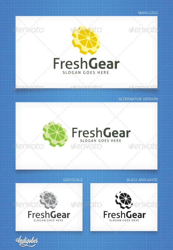 FreshGear - Logo Template - Objects Logo Templates
