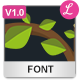 Forest Font - GraphicRiver Item for Sale