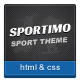 Sportimo - Sport & Events Magazine HTML Template - ThemeForest Item for Sale