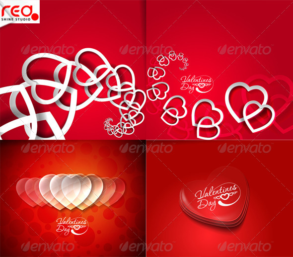 Valentines Day Hearts 1 - Valentines Seasons/Holidays