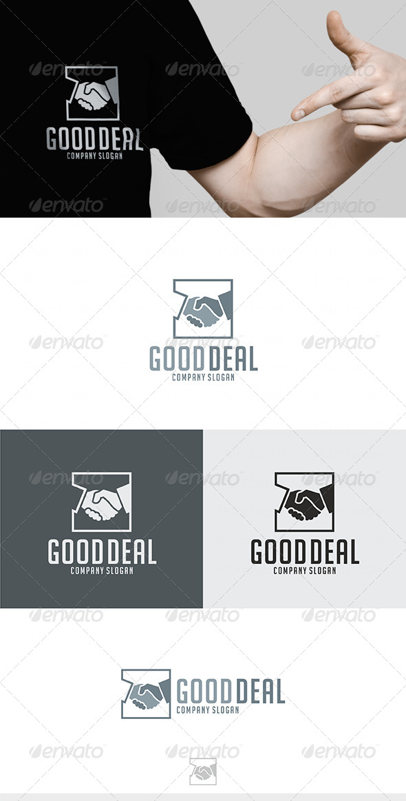 Good Deal Logo - Humans Logo Templates