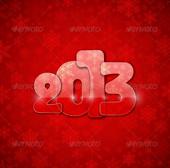 New Year from Glass - New Year Seasons/Holidays