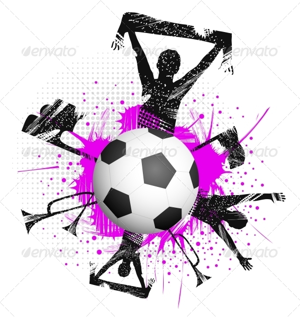 Ball in Game - Sports/Activity Conceptual