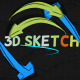3D Sketch - VideoHive Item for Sale