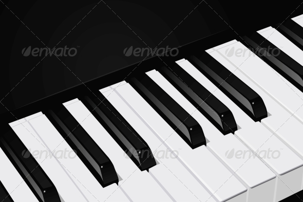 Piano Keys - Media Technology