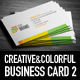 Creative and Colorful Business Card 2 - GraphicRiver Item for Sale