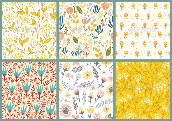 Flowers Patterns - Patterns Decorative