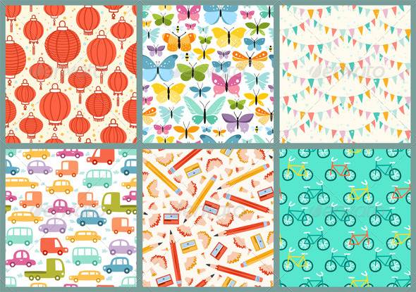 Various Patterns - Patterns Decorative