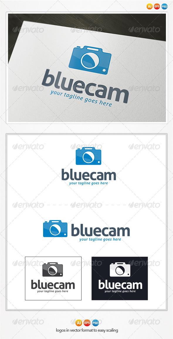 Blue Cam Logo - Symbols Logo Templates
