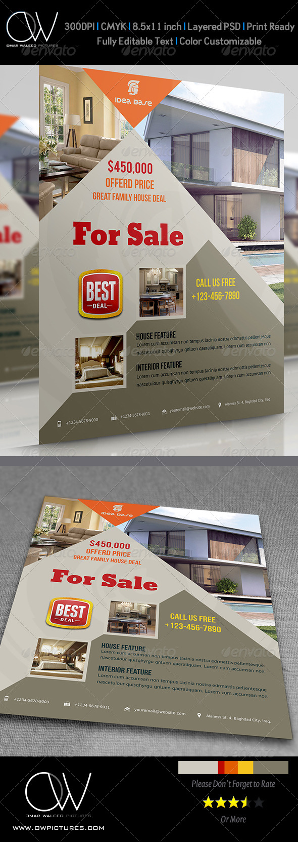Real Estate Flyer Vol.4 - Commerce Flyers
