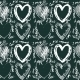 Seamless Hand Drawn Heart Pattern - GraphicRiver Item for Sale