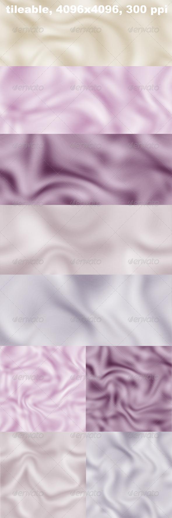 5 Silk Textures - Fabric Textures