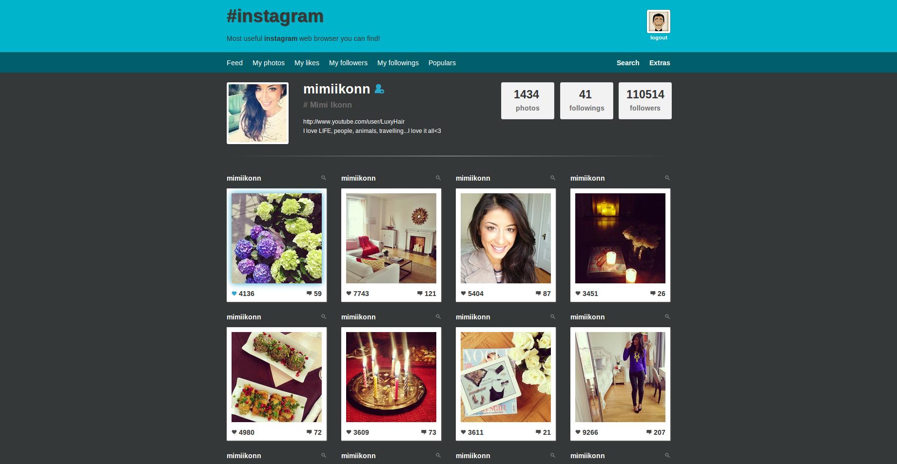 instagram web viewer login