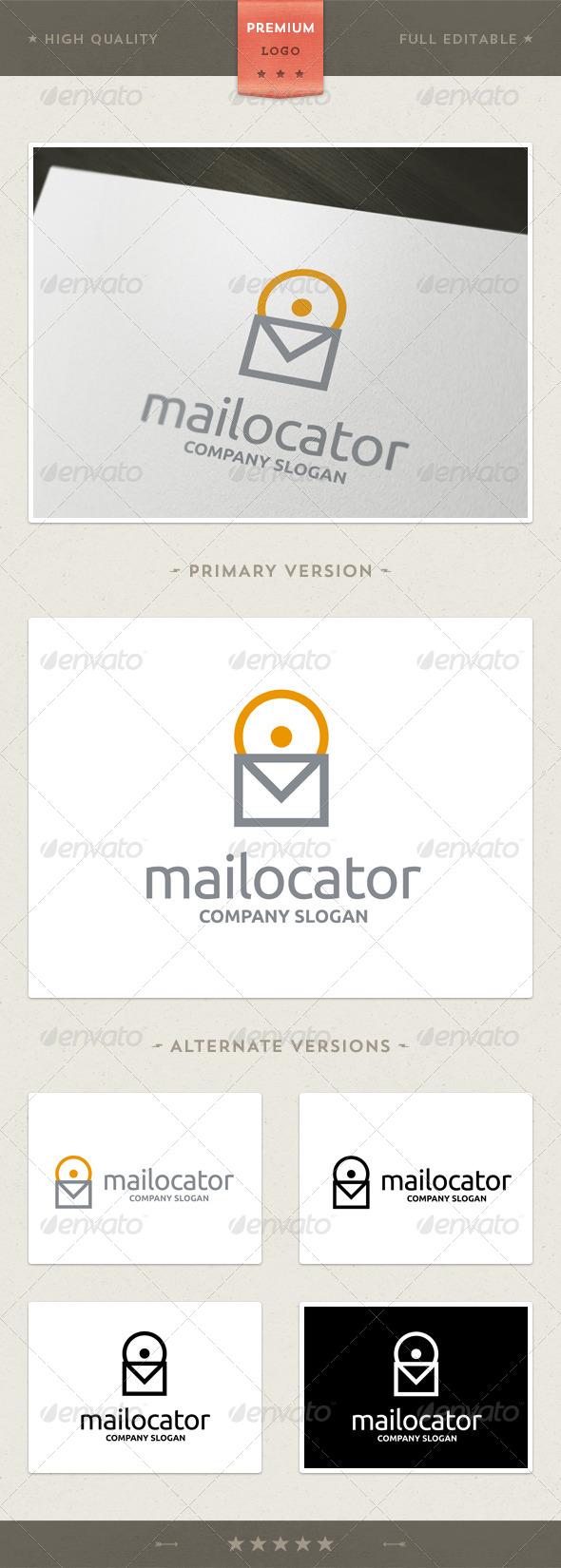 Mailocator Logo Template - Objects Logo Templates